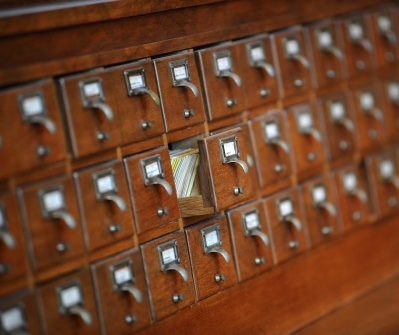 Card catalogue