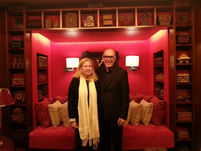 Our Host, Dr. Susan Weber, and her architect and designer, David Mann of MR Architecture + Décor.