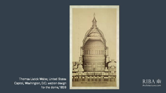 Thomas Ustick Walter Capital section design for the dome in DC 1859.png